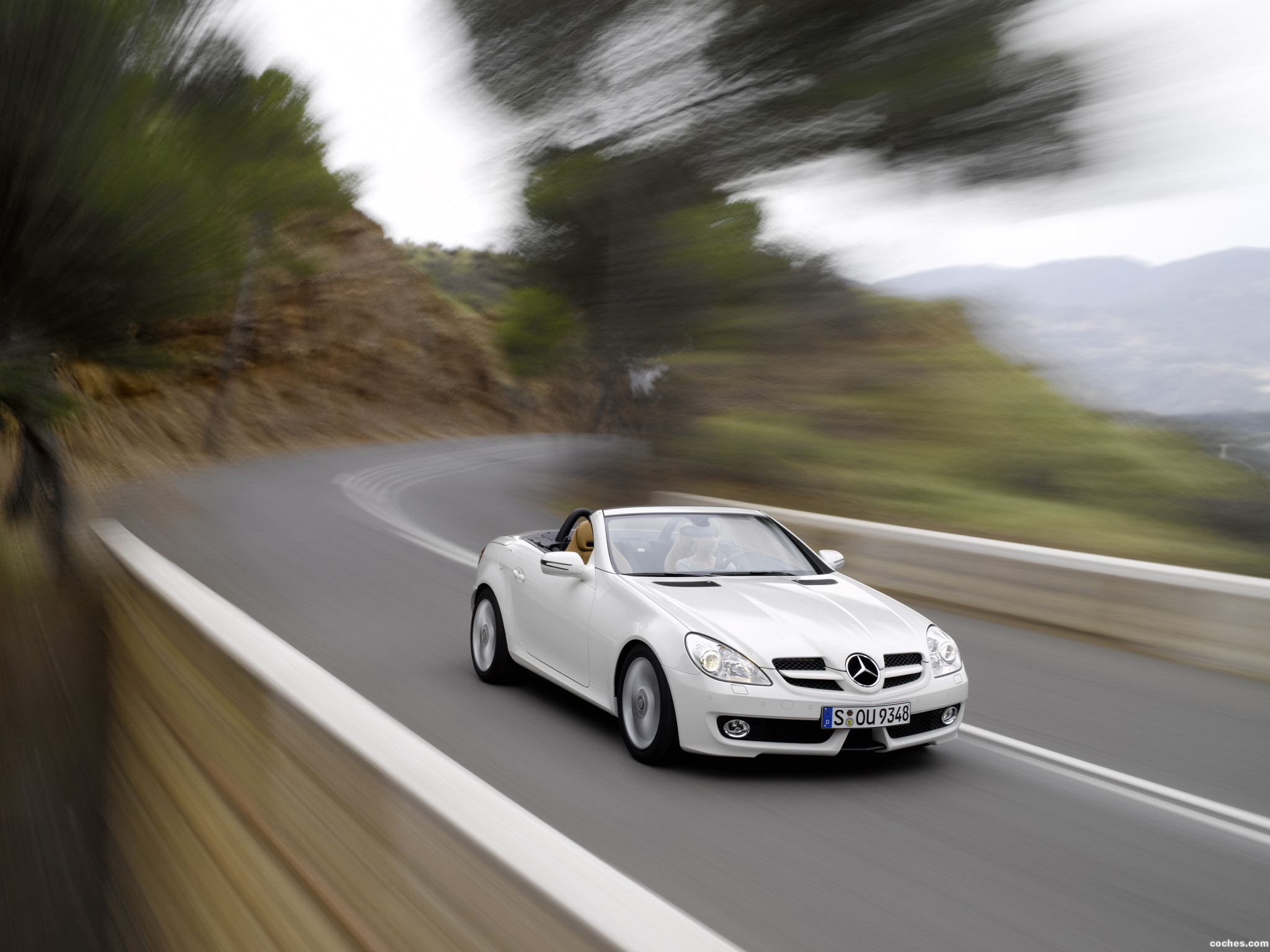 Foto 0 de Mercedes SLK Facelift 2008