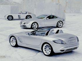 Ver foto 14 de Mercedes SLR Concept 1999