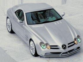 Ver foto 3 de Mercedes SLR Concept 1999
