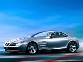 Ver foto 20 de Mercedes SLR Concept 1999