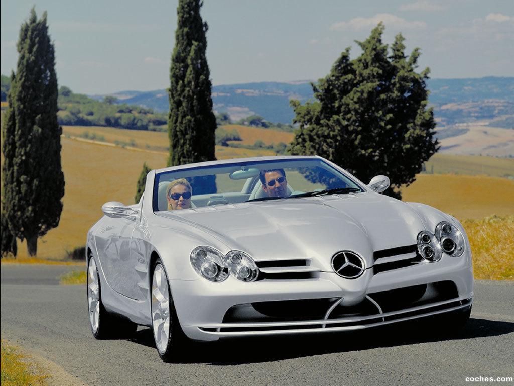 Foto 0 de Mercedes SLR Concept 1999