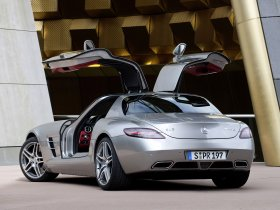 Ver foto 10 de Mercedes SLS AMG Gullwing 2010
