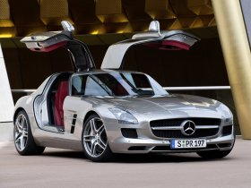 Fotos de Mercedes SLS AMG Gullwing 2010