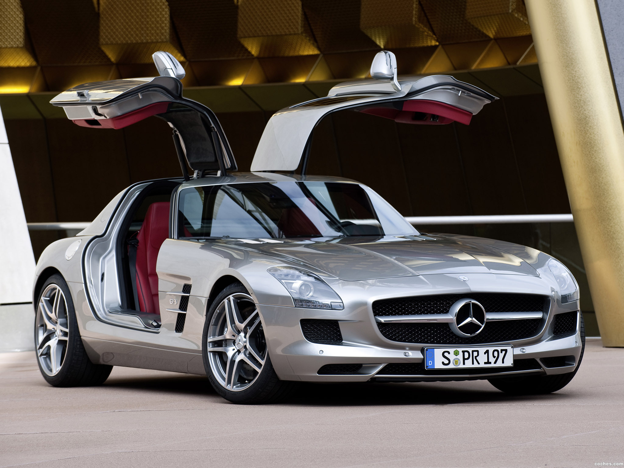 Foto 0 de Mercedes SLS AMG Gullwing 2010