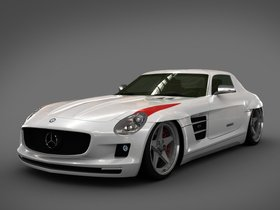 Fotos de Mercedes SLS Panamericana Body Package GWA 2010