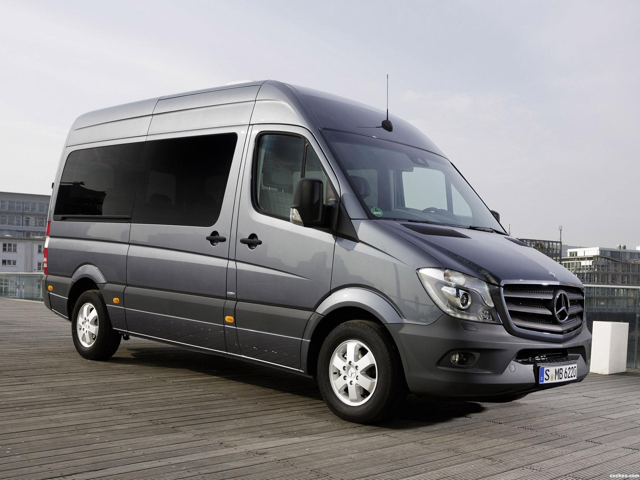 Foto 0 de Mercedes Sprinter Crew Bus 2013