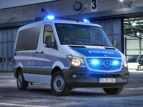 Fotos de Mercedes Sprinter Polizei W906 2013