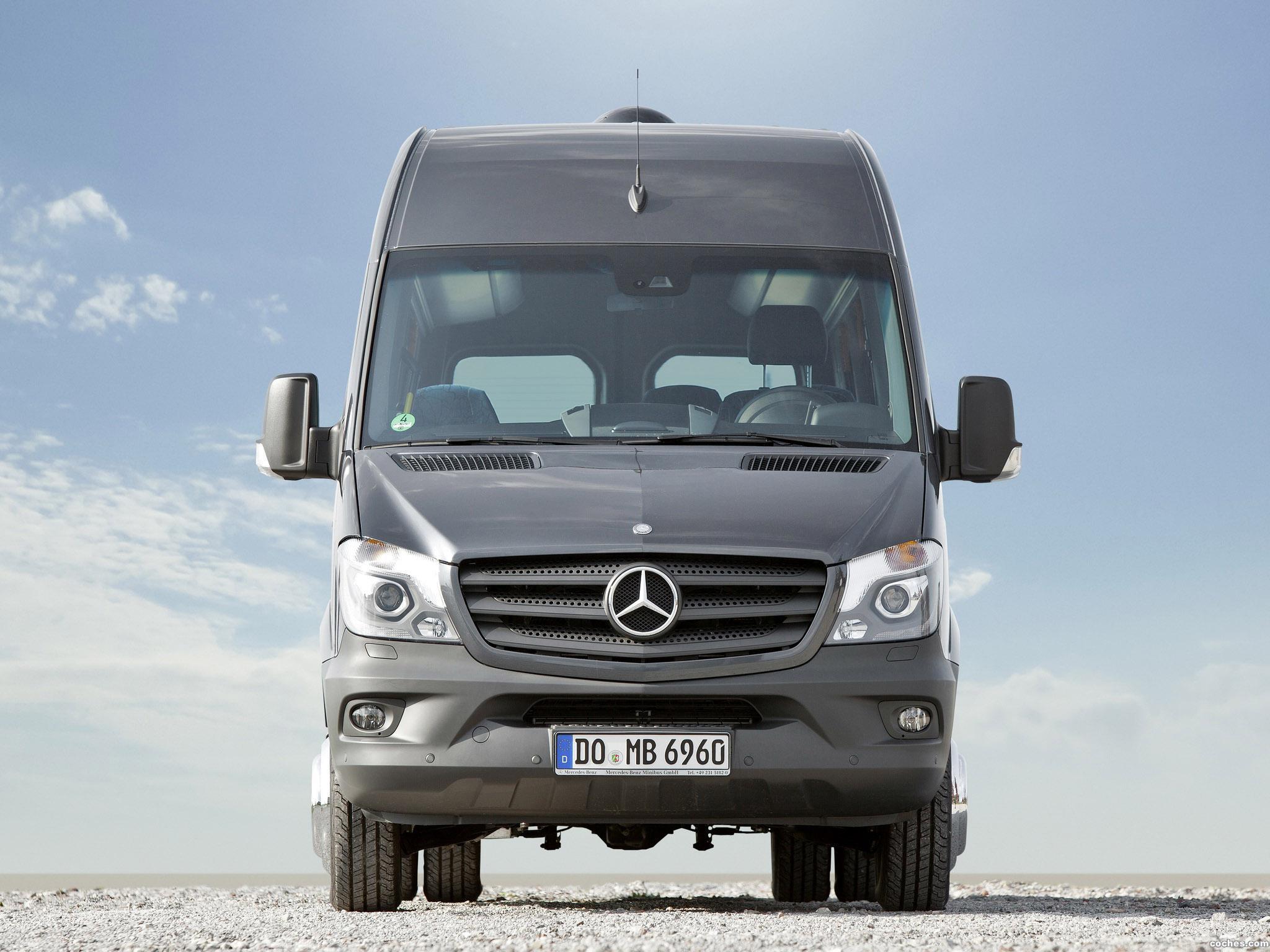 Foto 2 de Mercedes Sprinter Transfer 45 2014
