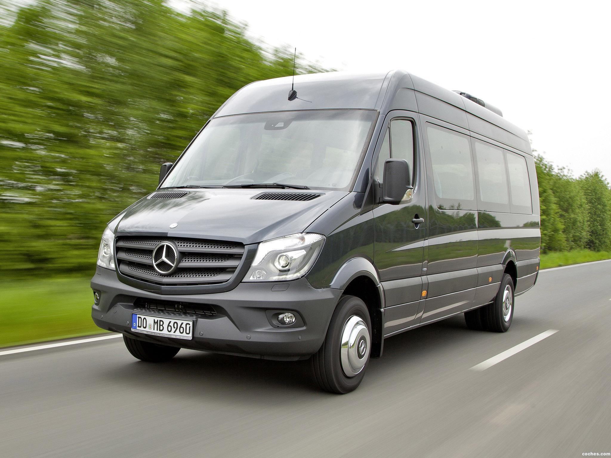 Foto 0 de Mercedes Sprinter Transfer 45 2014