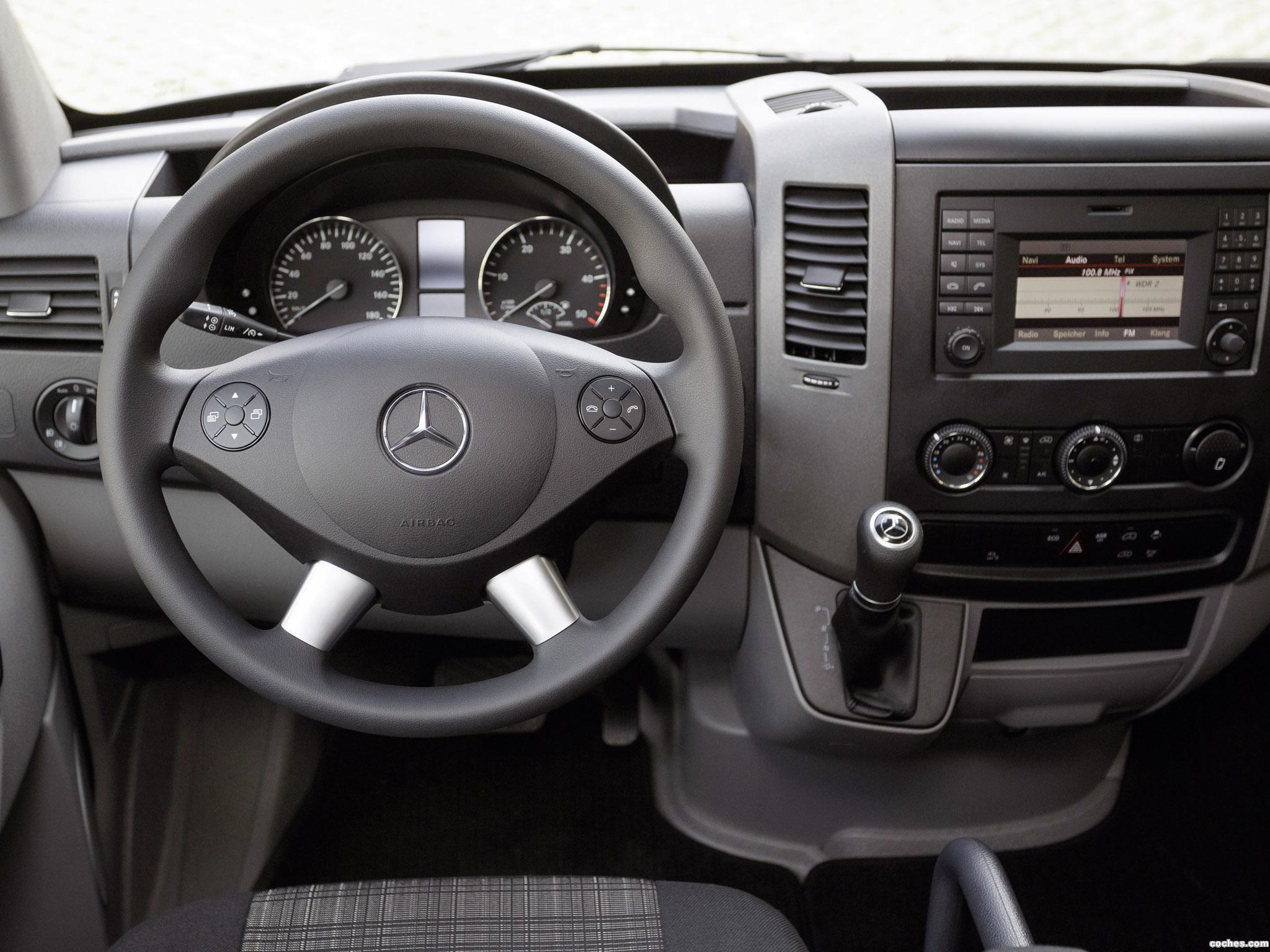 Foto 5 de Mercedes Sprinter Van 2013