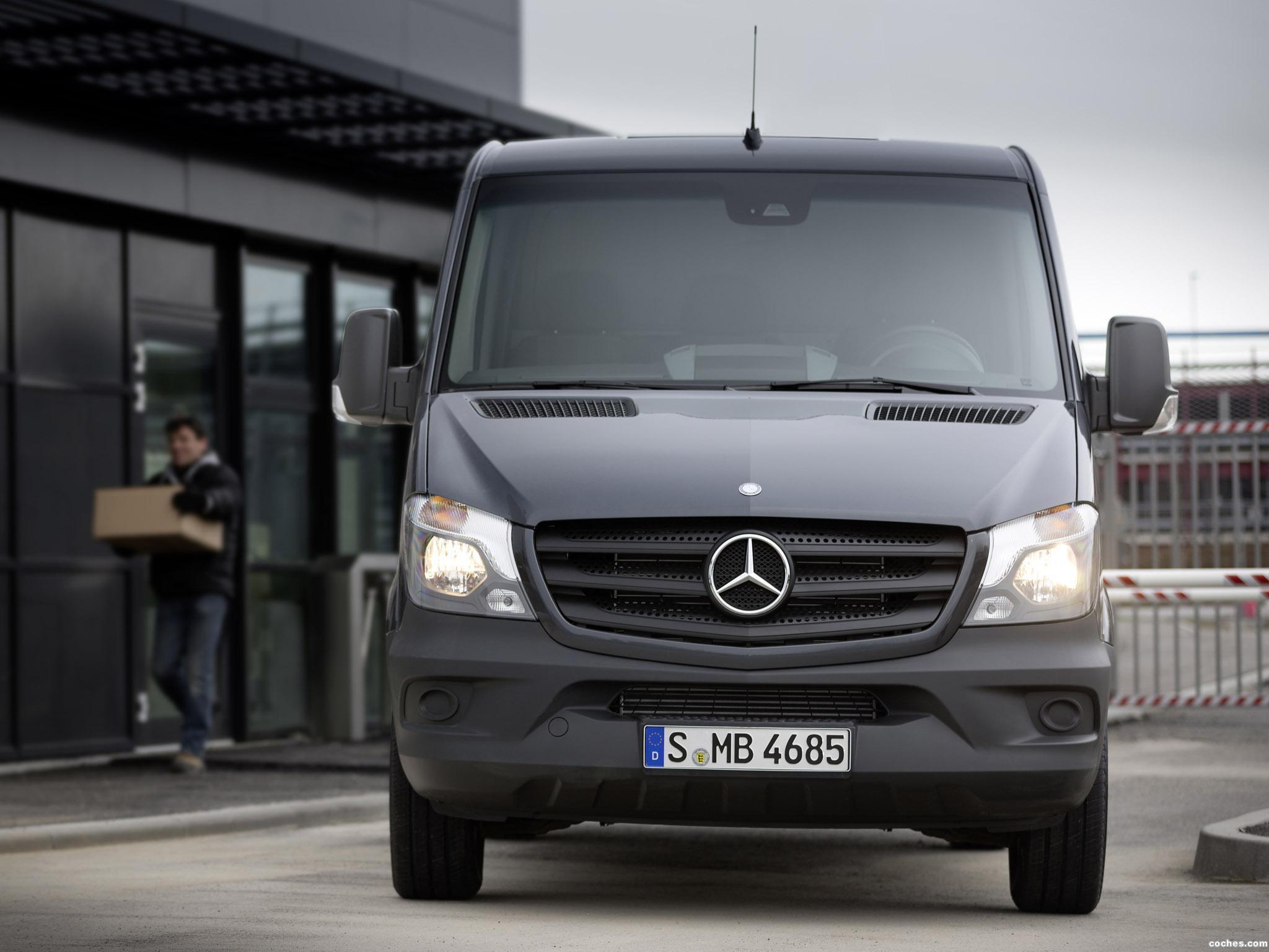Foto 4 de Mercedes Sprinter Van 2013