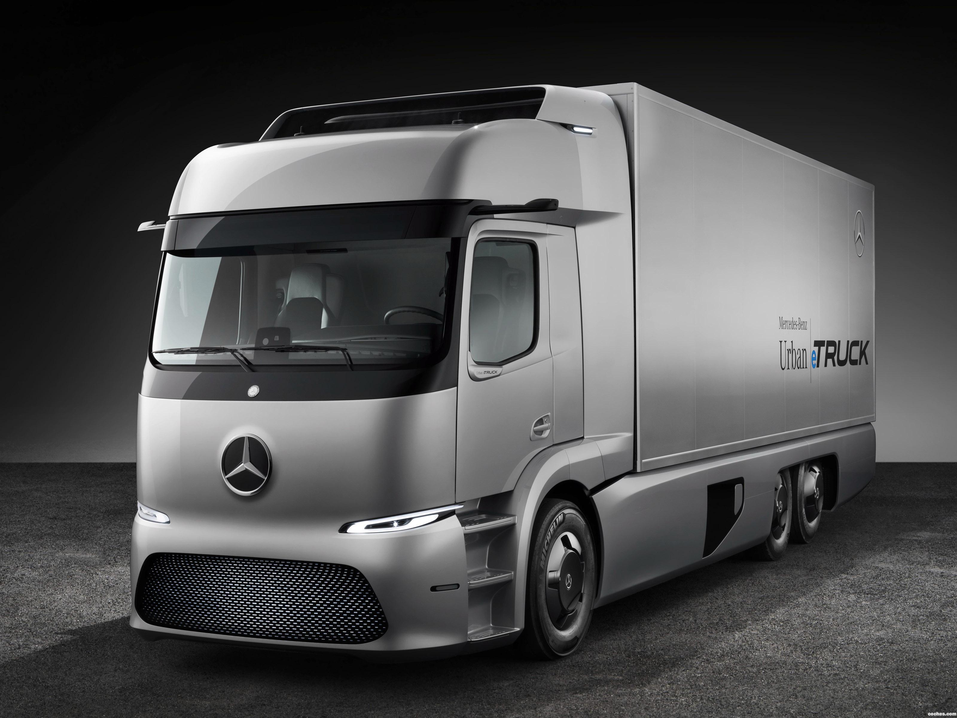 Foto 0 de Mercedes Urban e-Truck 2016