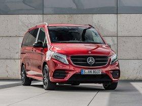 Ver foto 1 de Mercedes Clase V Designo Hyacinth Red Metallic W447 2017