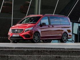 Ver foto 5 de Mercedes Clase V Designo Hyacinth Red Metallic W447 2017