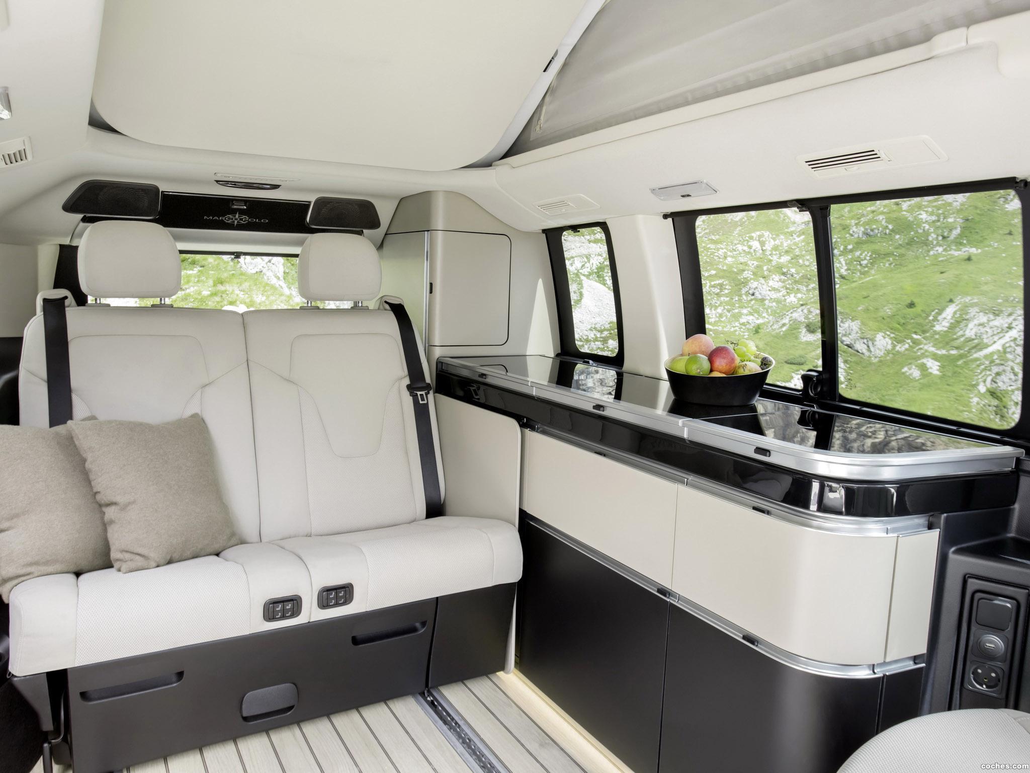 fotos de mercedes clase v marco polo 2014 foto 16. Black Bedroom Furniture Sets. Home Design Ideas