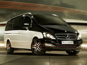 Ver foto 1 de Mercedes Viano Vision Diamond Concept 2012