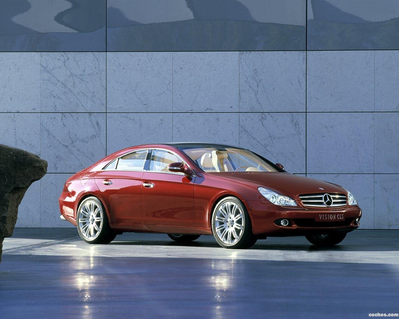 Foto 0 de Mercedes Vision CLS Concept 2003