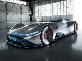 Ver foto 3 de Mercedes Vision EQ Silver Arrow 2018