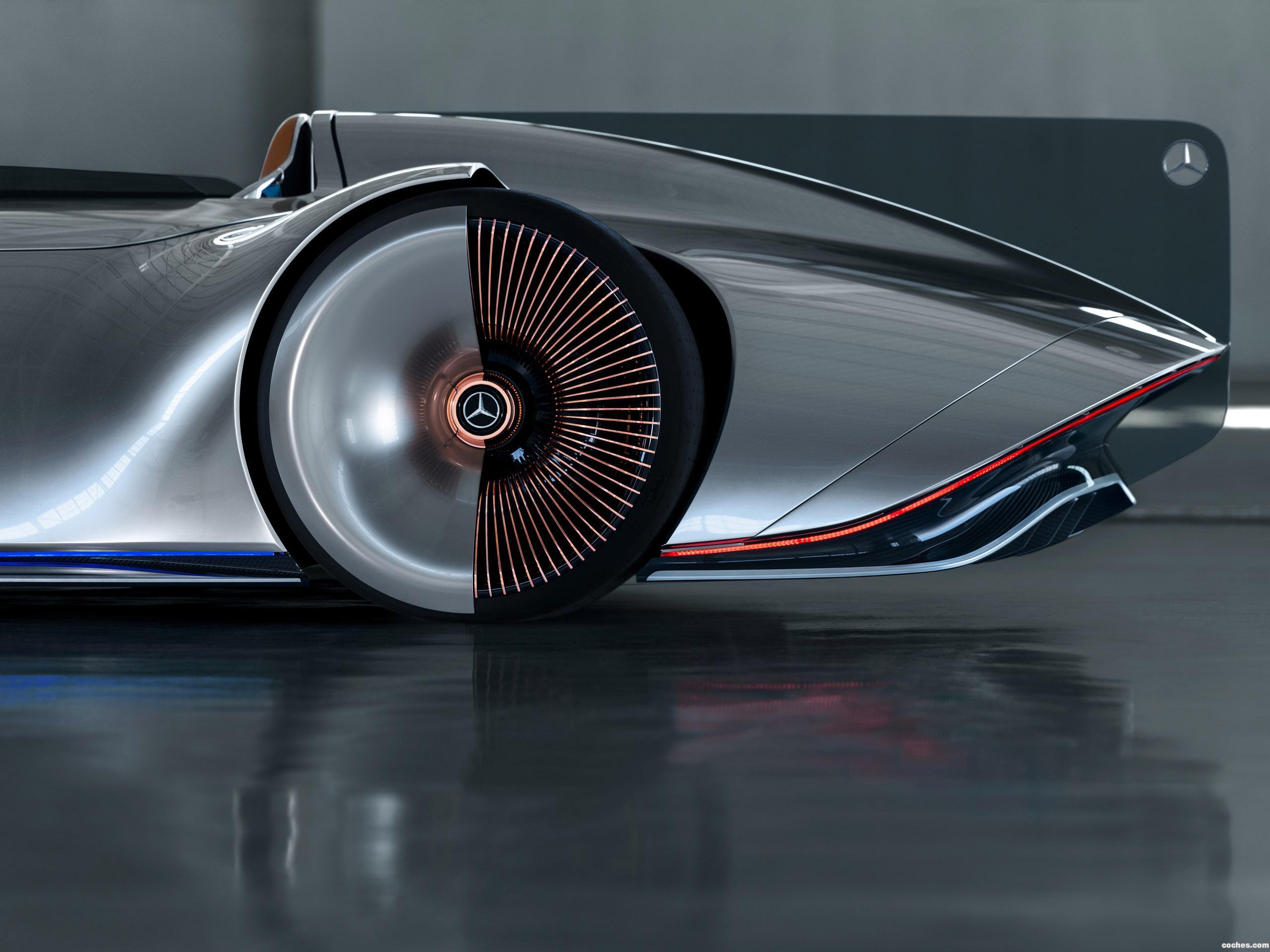 Foto 23 de Mercedes Vision EQ Silver Arrow 2018