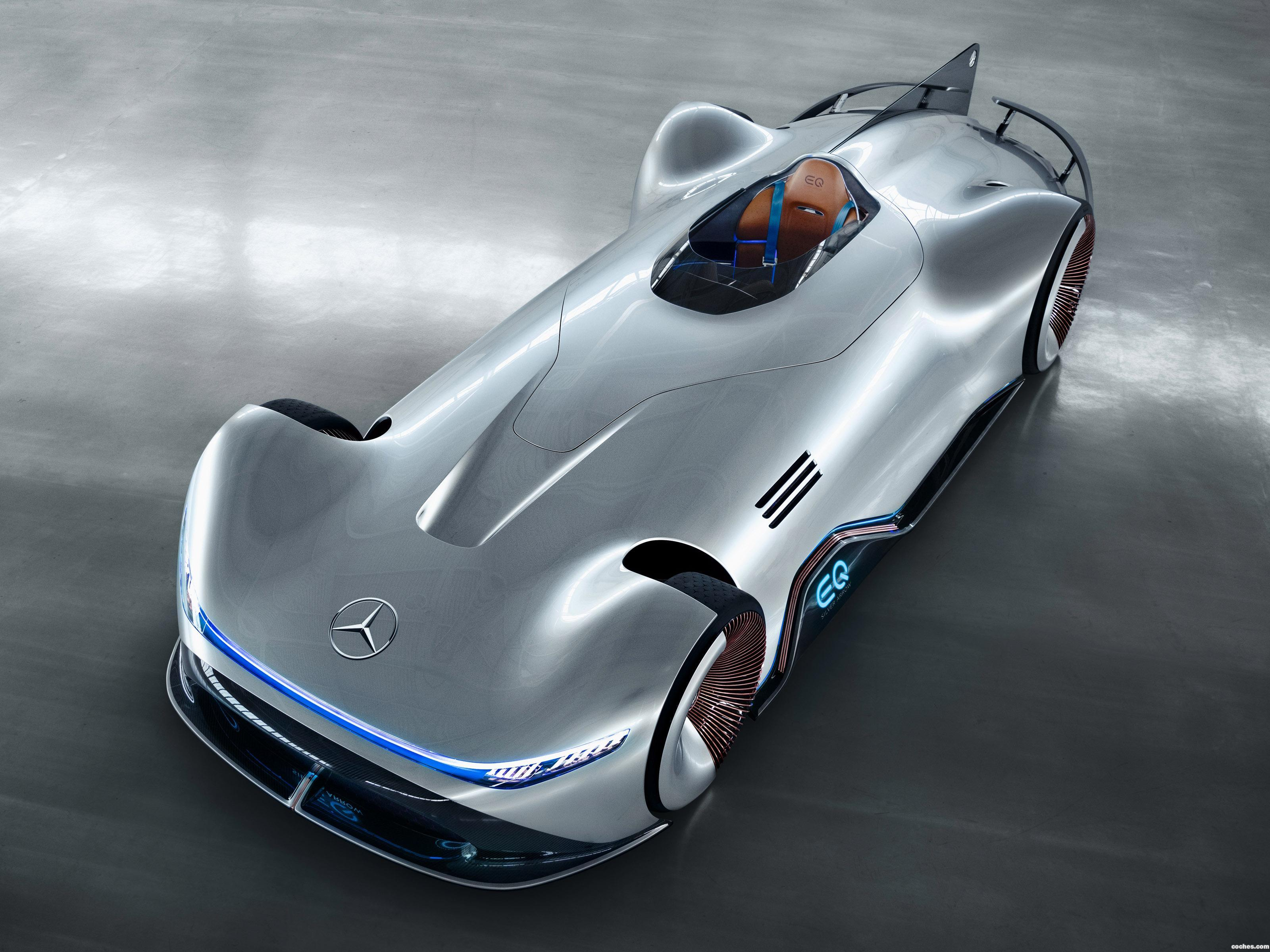Foto 19 de Mercedes Vision EQ Silver Arrow 2018
