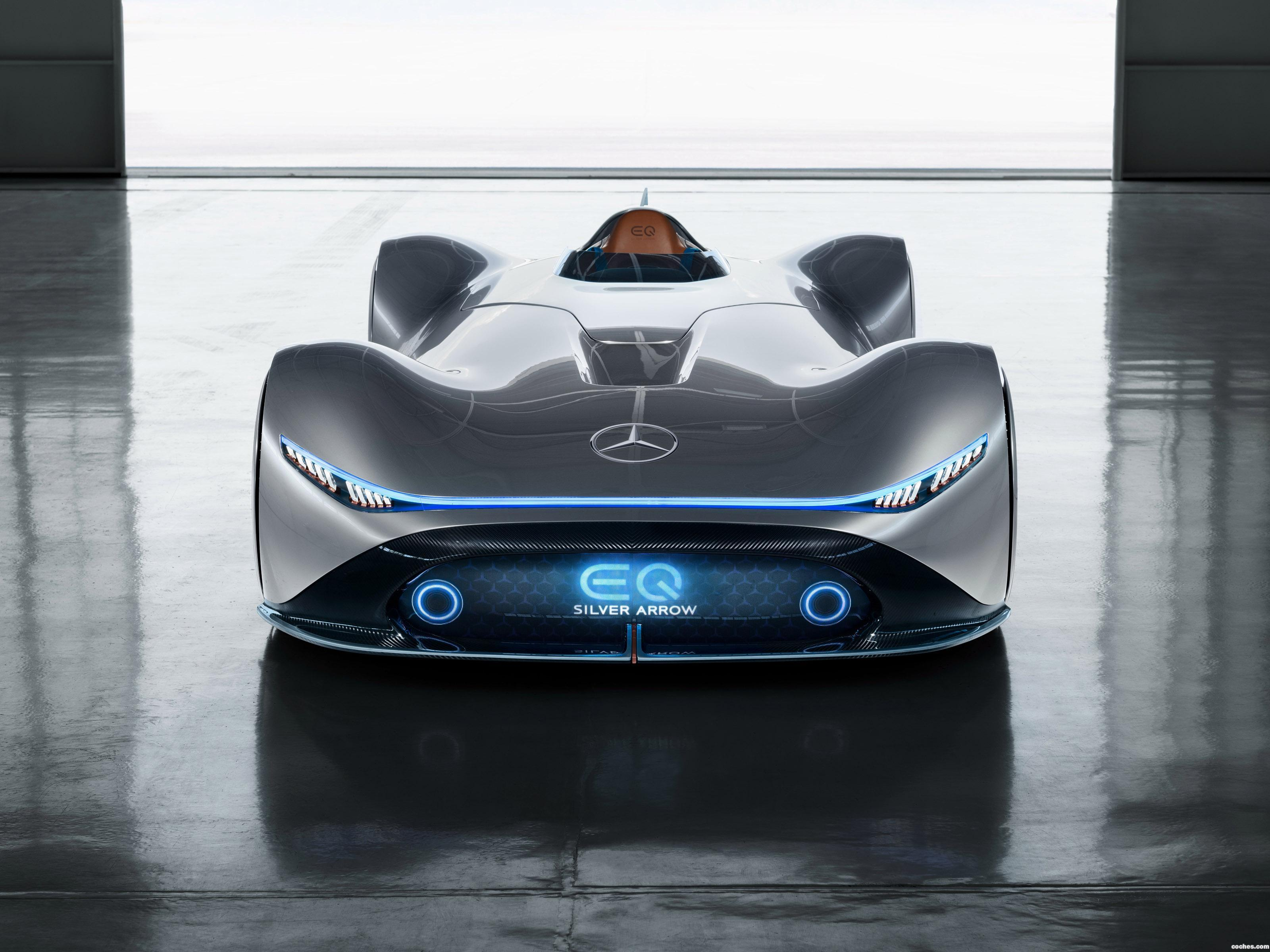 Foto 13 de Mercedes Vision EQ Silver Arrow 2018