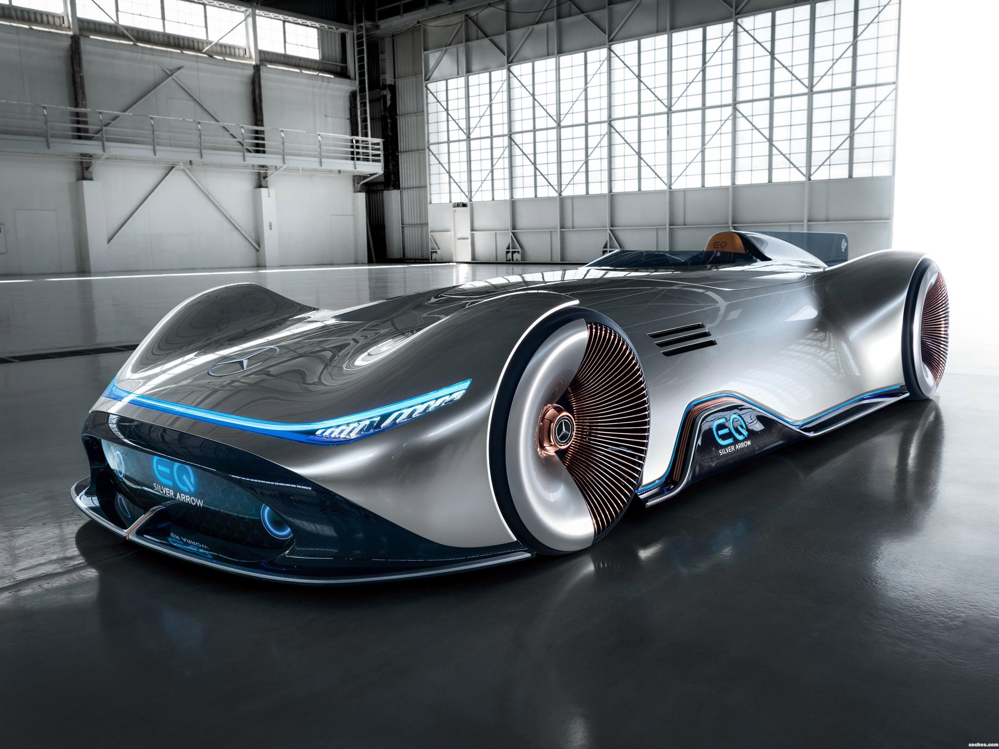 Foto 2 de Mercedes Vision EQ Silver Arrow 2018