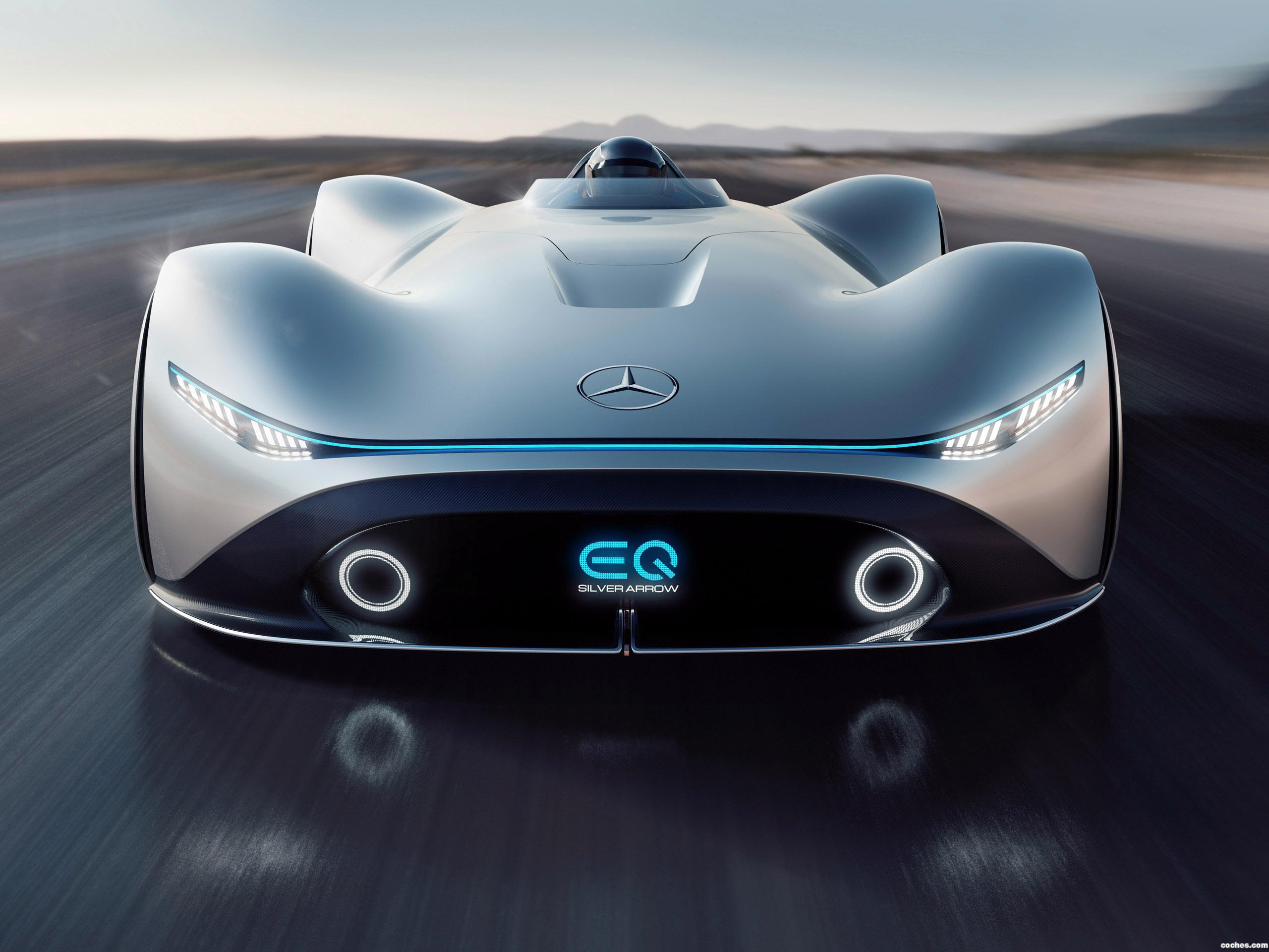 Foto 1 de Mercedes Vision EQ Silver Arrow 2018