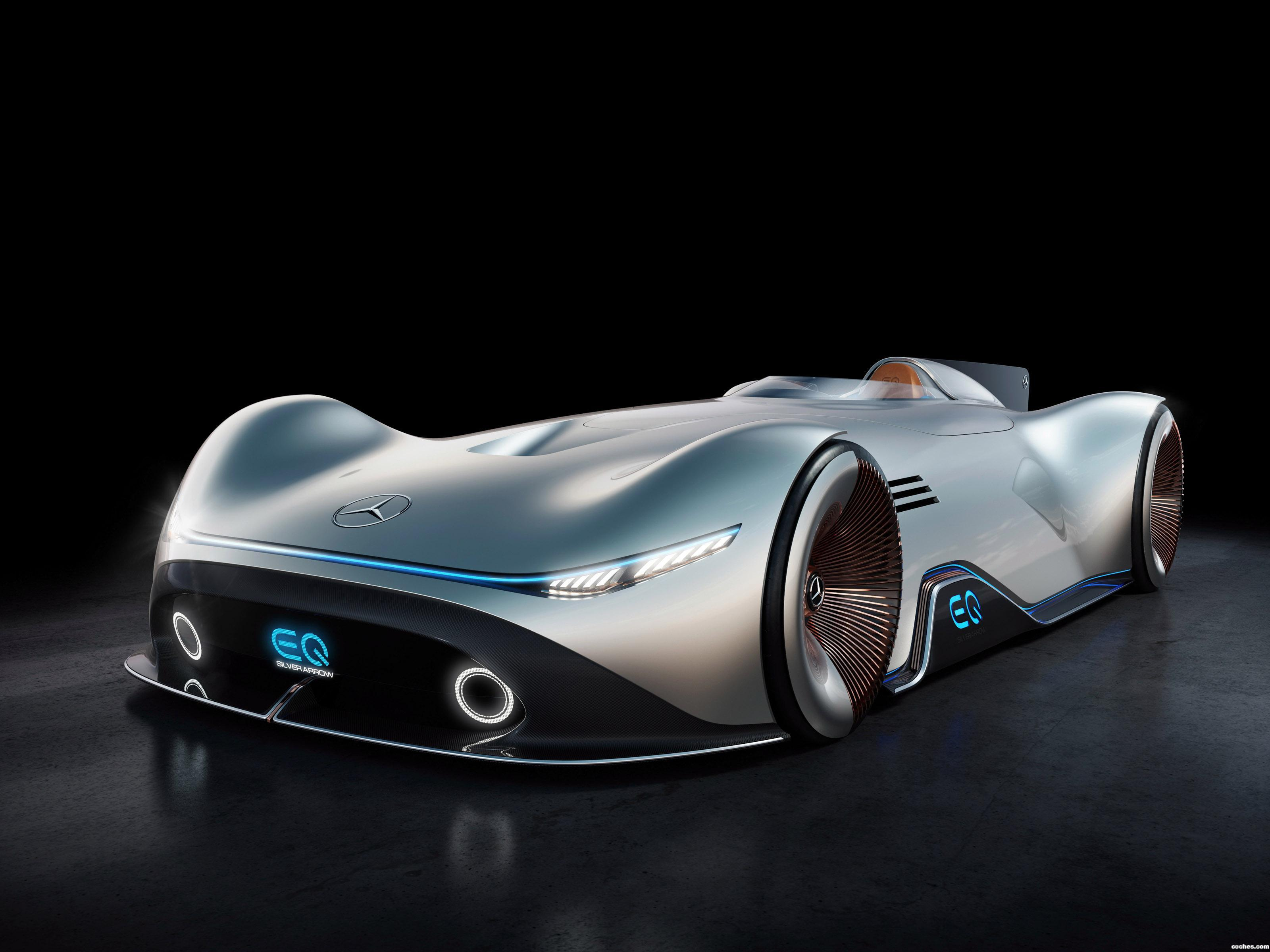 Foto 0 de Mercedes Vision EQ Silver Arrow 2018