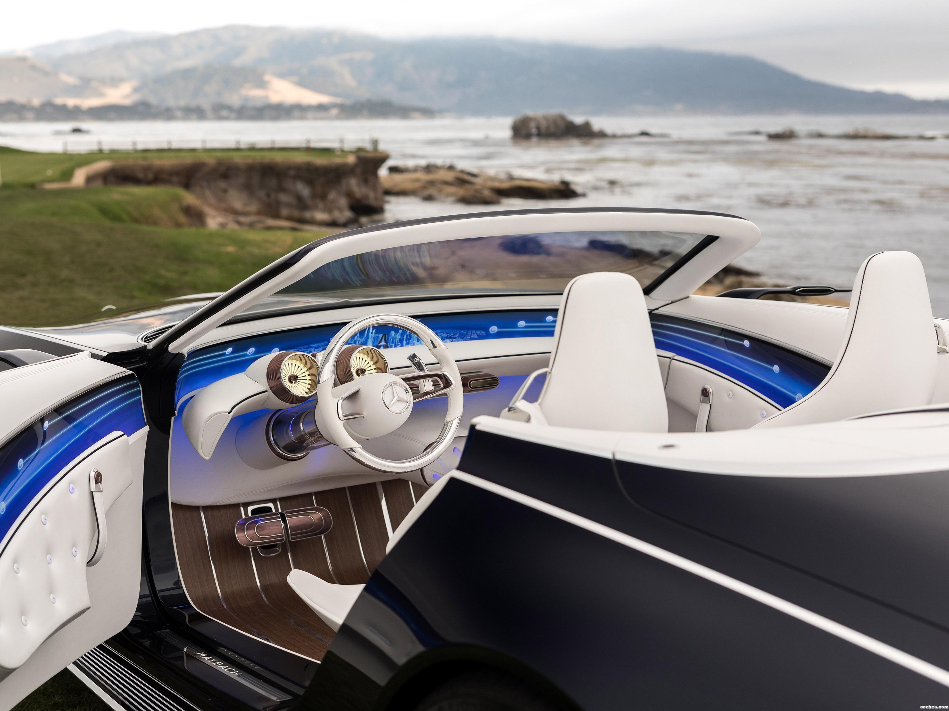 Foto 25 de Mercedes Vision Maybach 6 Cabriolet 2017