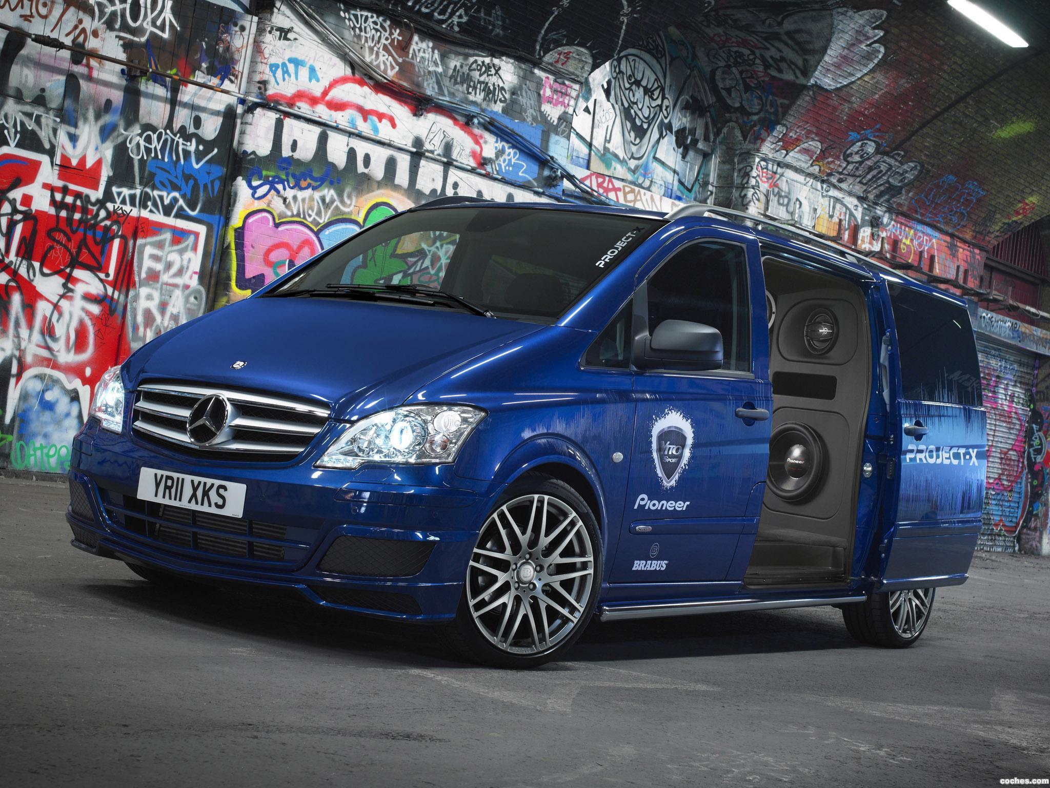 Foto 0 de Mercedes Vito Sport-X Project X W639 2012