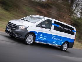 Ver foto 7 de Mercedes eVito Combi 2020