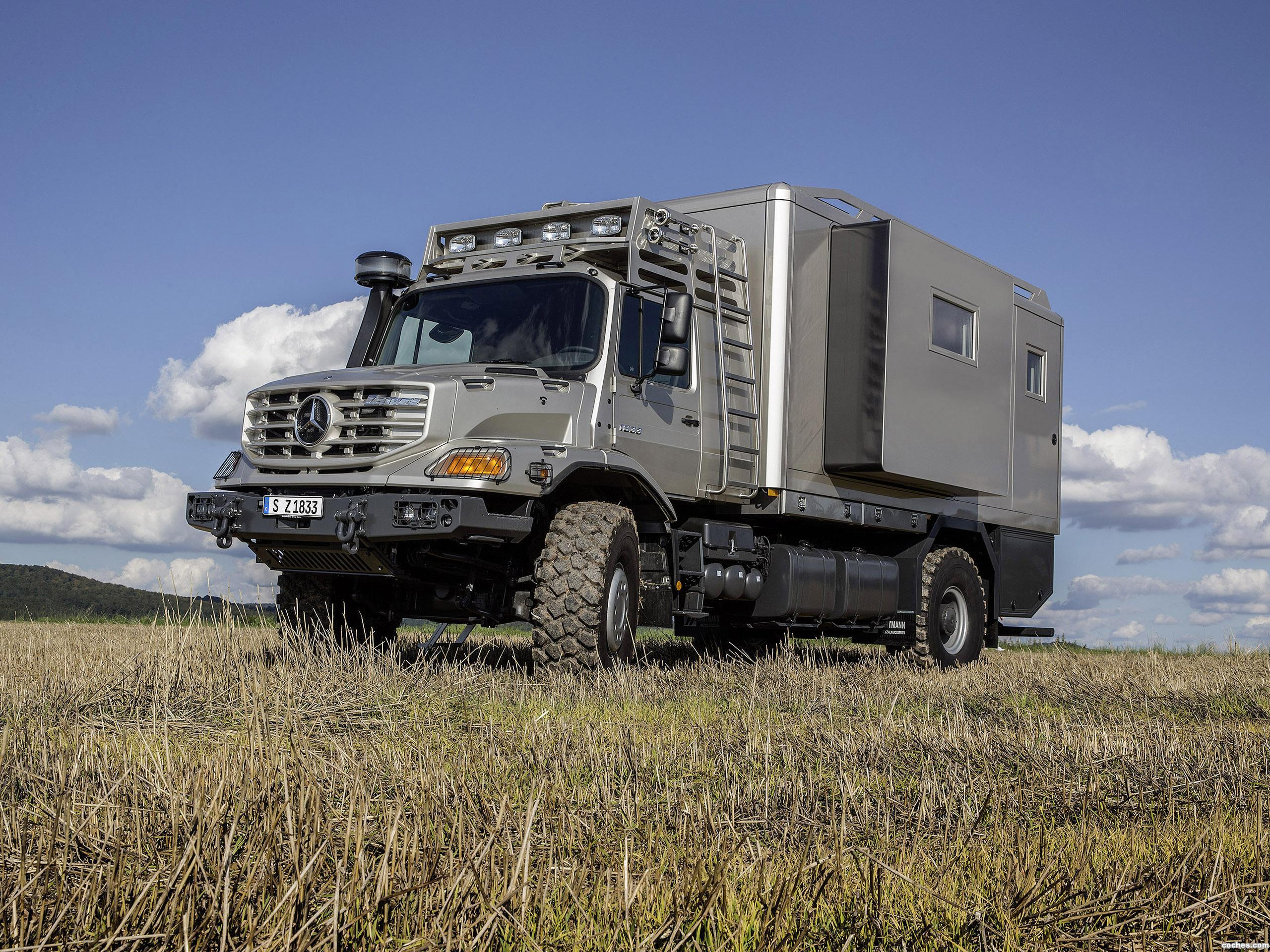 Foto 2 de Mercedes Zetros Mobile Home 2014