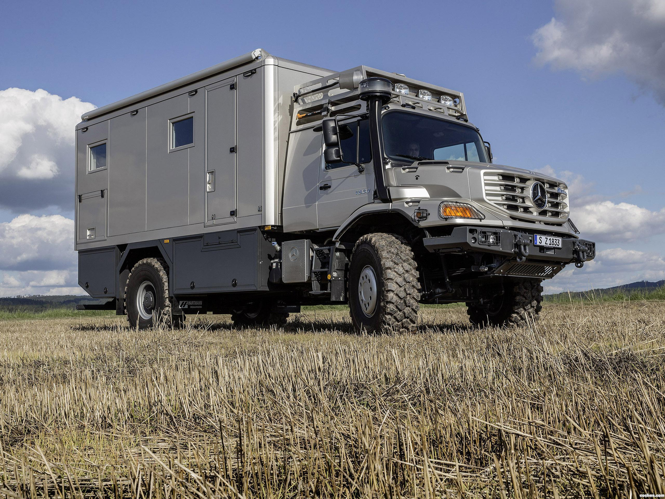 Foto 1 de Mercedes Zetros Mobile Home 2014