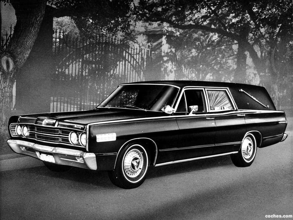 Foto 0 de Mercury Commuter Abbott And Hast Hearse 1967