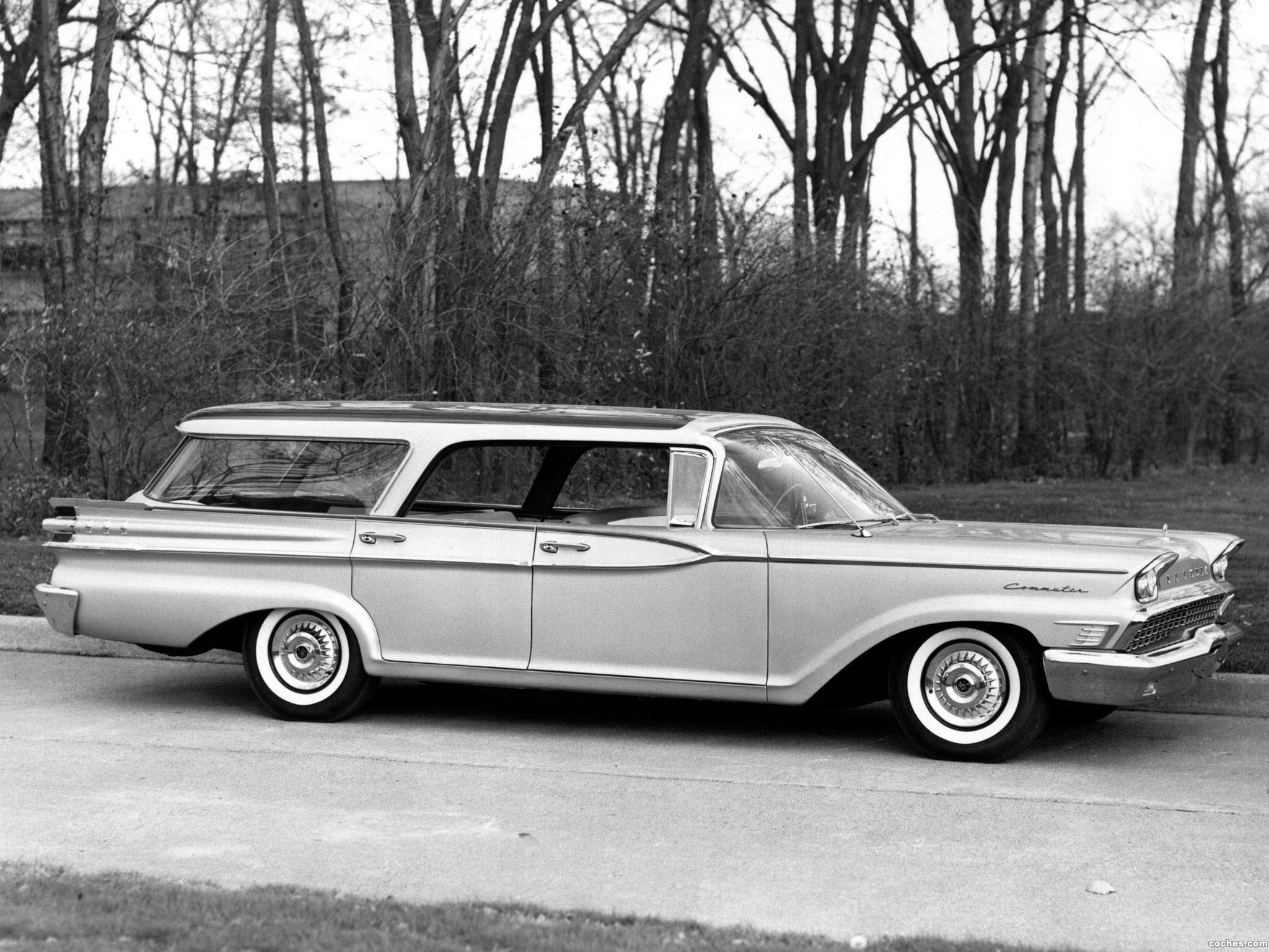 Foto 0 de Mercury Commuter Country Cruiser 1959