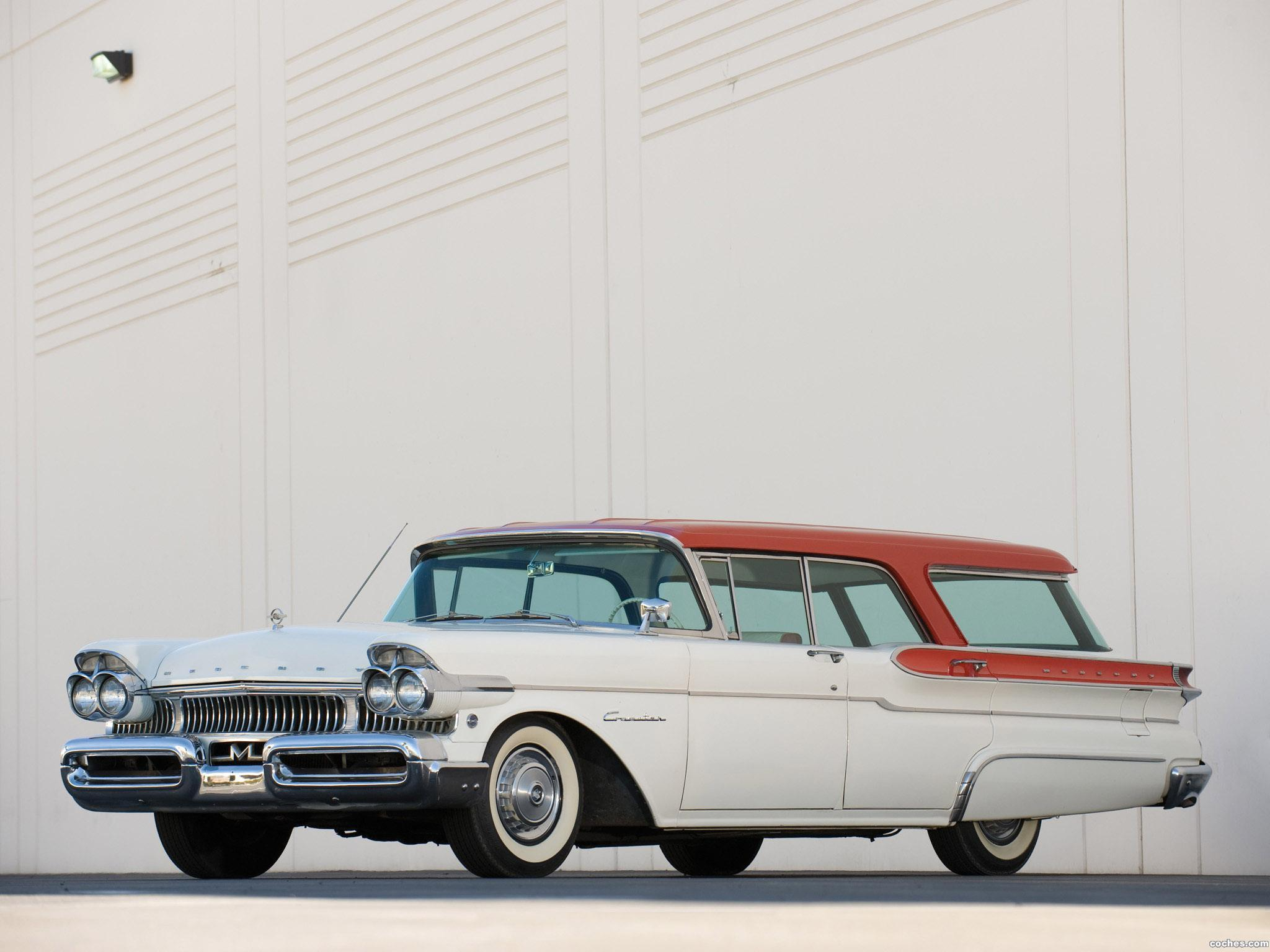 Foto 0 de Mercury Commuter Station Wagon 1957