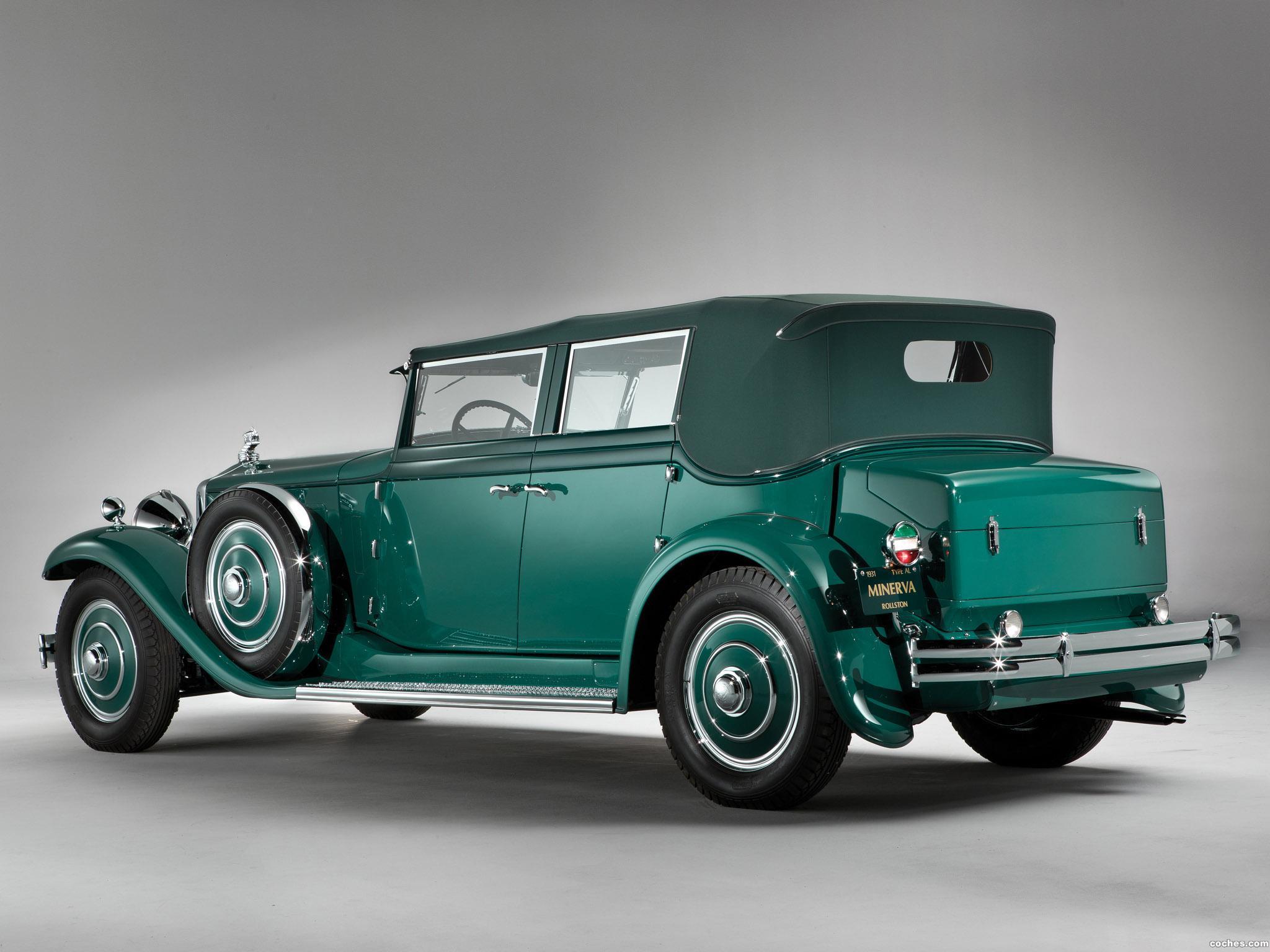 Foto 4 de Minerva 8AL Rollston Convertible Sedan 1931