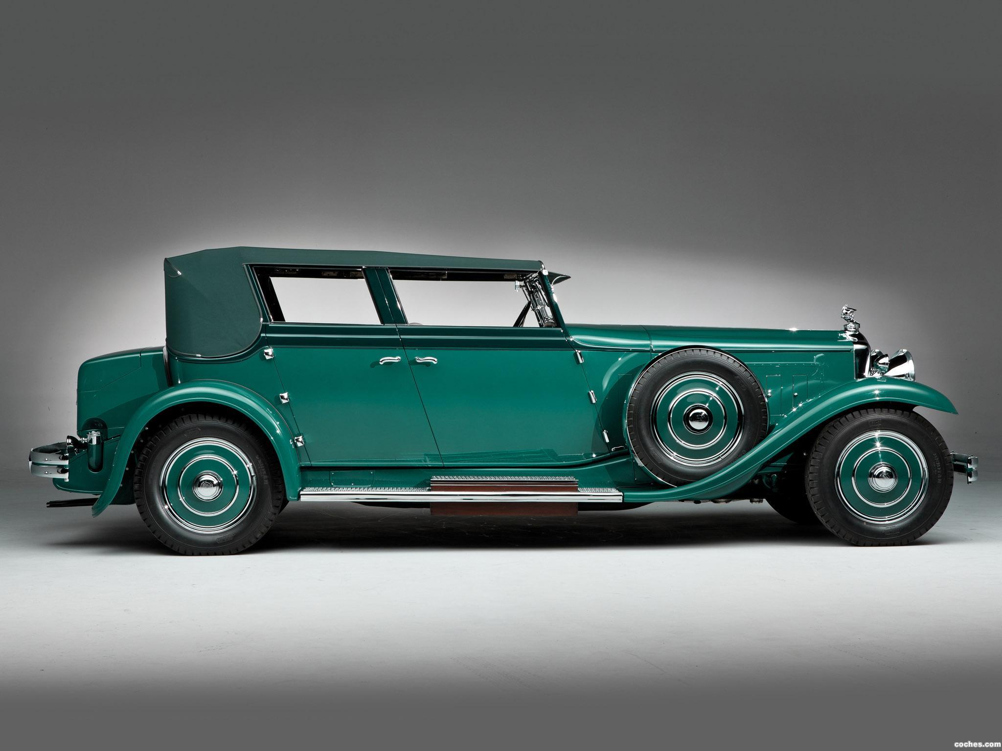 Foto 2 de Minerva 8AL Rollston Convertible Sedan 1931
