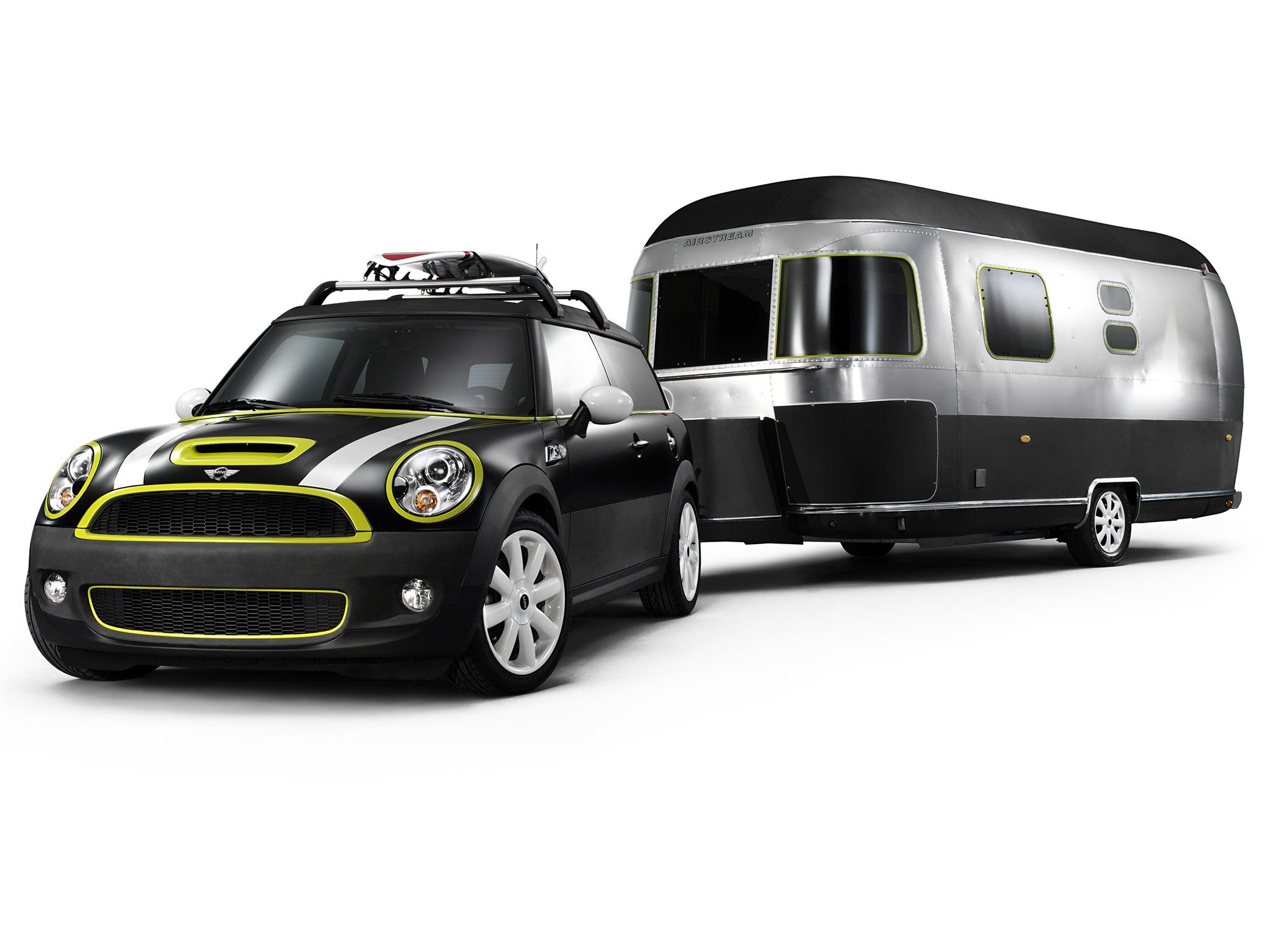 Foto 0 de Mini Clubman Cooper S and Airstream Concept 2009