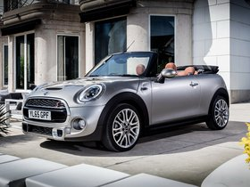 Fotos de Mini Cooper S Cabrio Open 150 Edition F57 2016