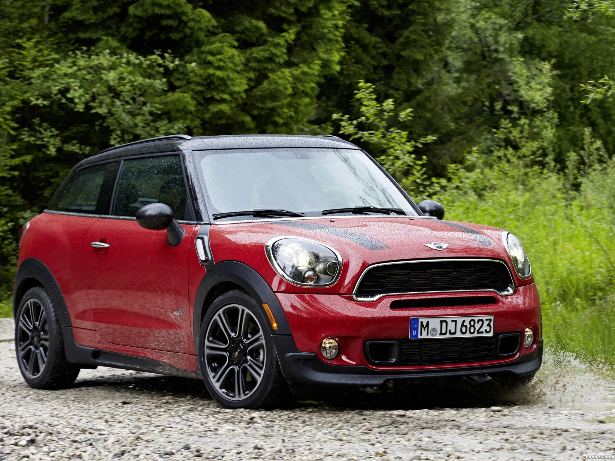 Foto 0 de Mini Paceman Cooper S All4 JCW John Cooper Works Package R61 2013