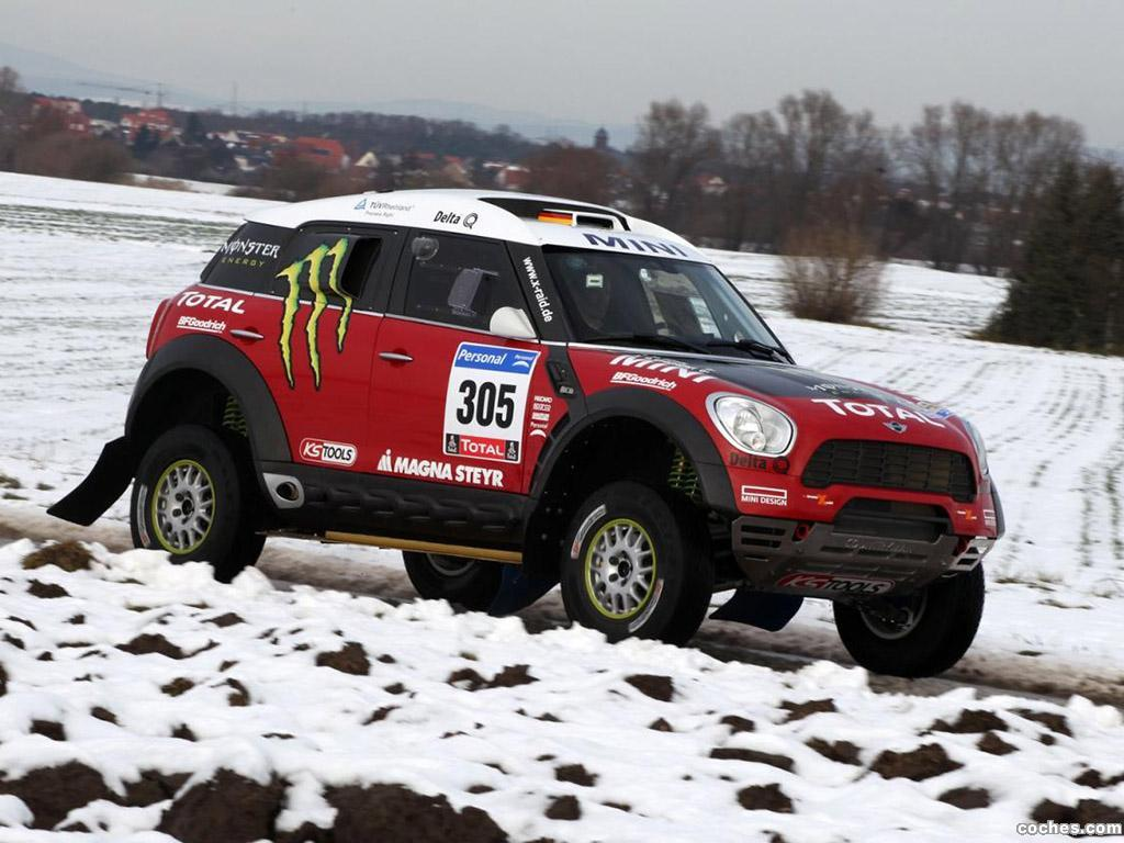 Foto 0 de Mini Countryman ALL4 Dakar 2010