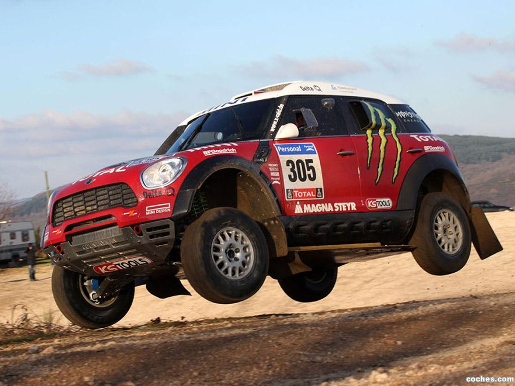 Foto 3 de Mini Countryman ALL4 Dakar 2010