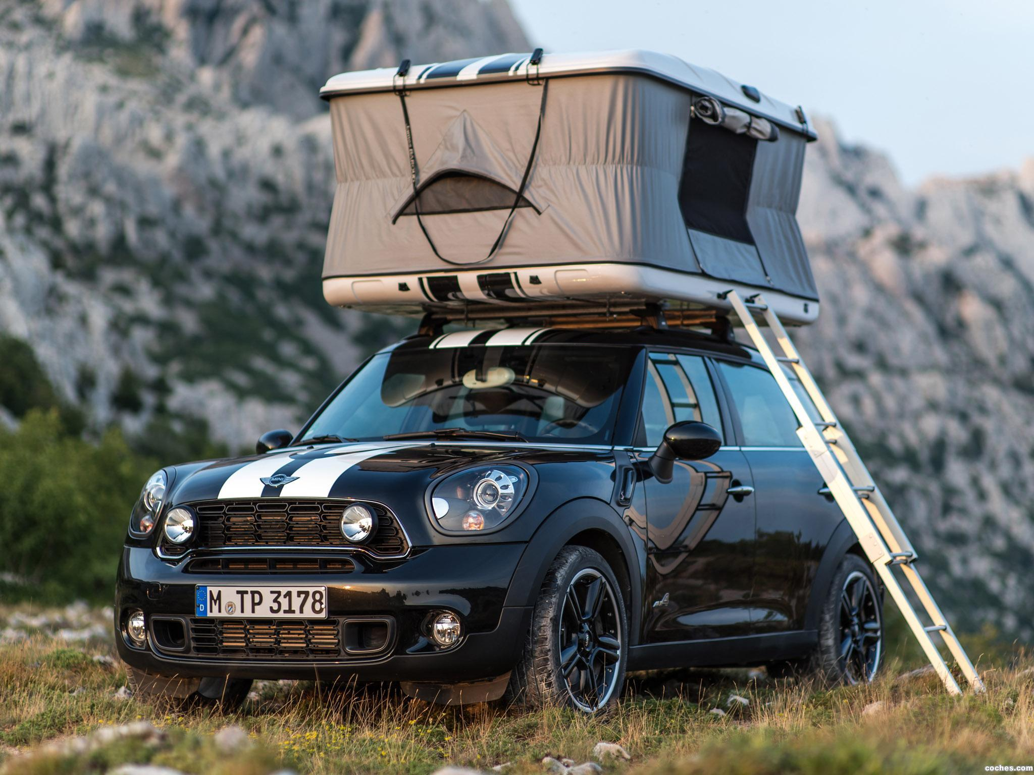 Foto 0 de Mini Countryman All4 Camp 2013