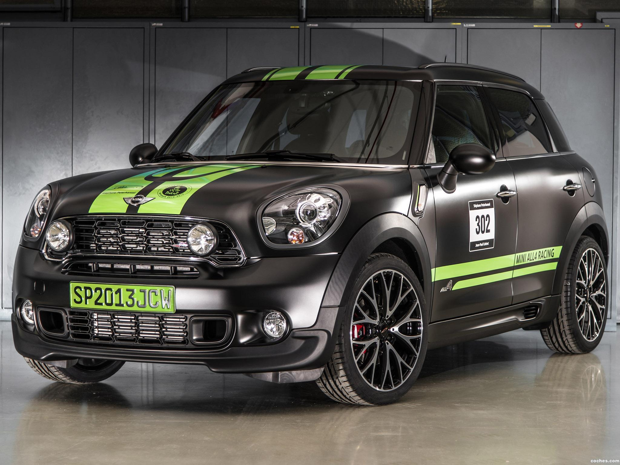 Foto 0 de Mini Countryman All4 JCW John Cooper Works Dakar Winner 2013
