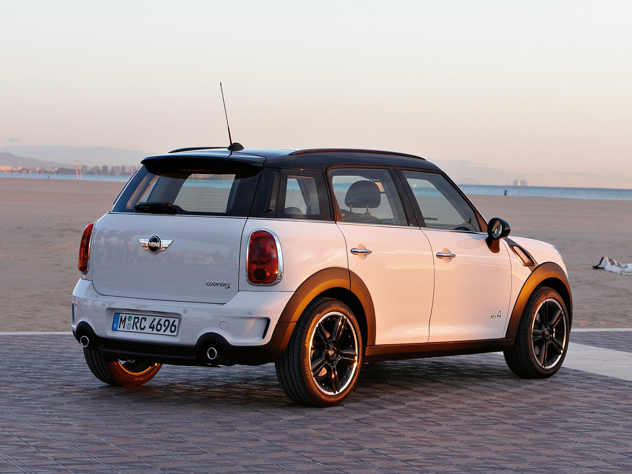 Foto 5 de Mini Countryman Cooper S ALL4 2010
