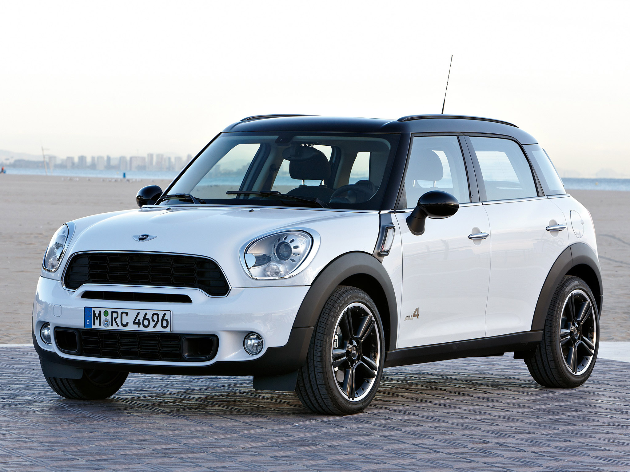 Foto 4 de Mini Countryman Cooper S ALL4 2010