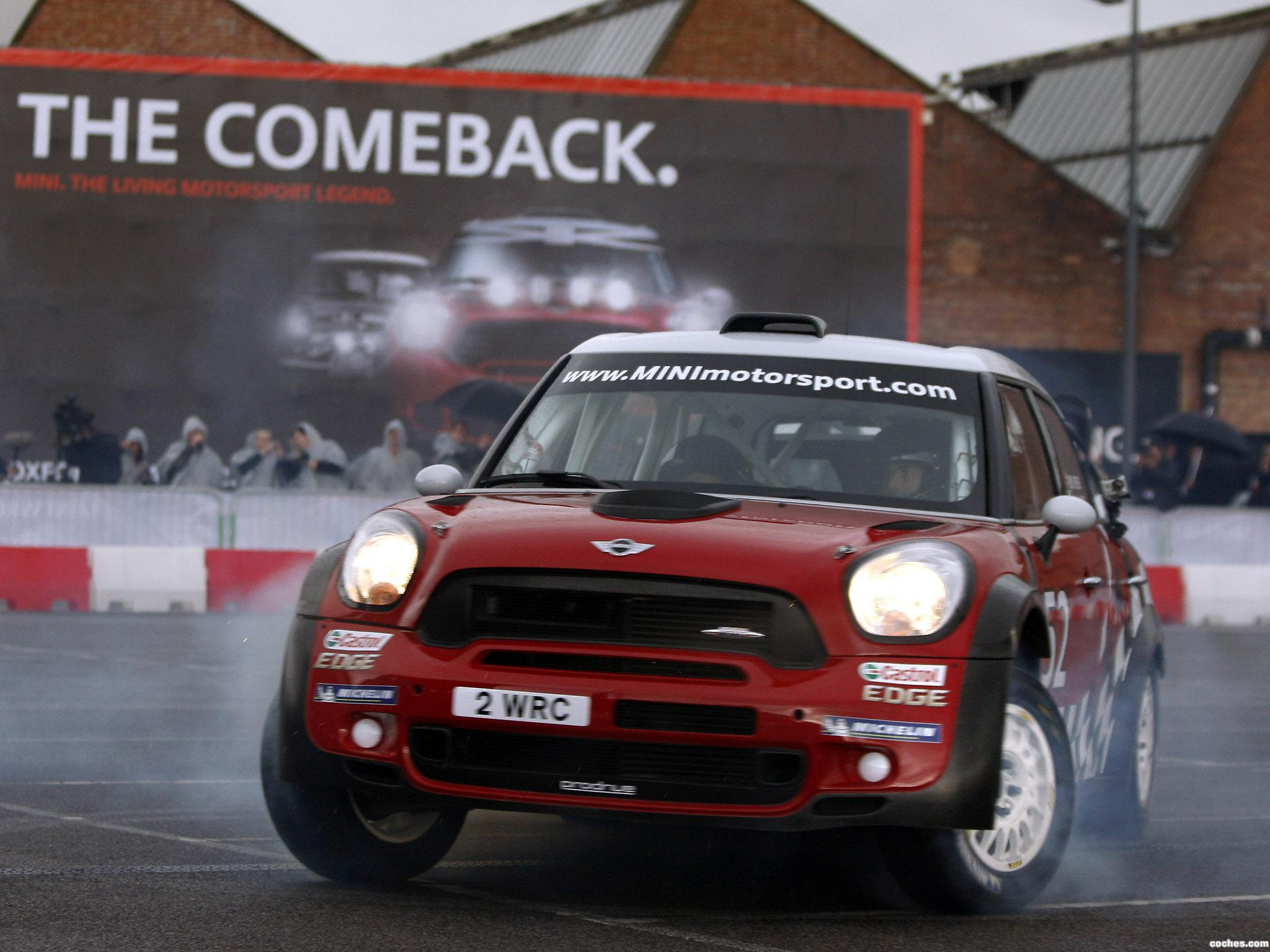 Foto 1 de Mini Countryman WRC 2011