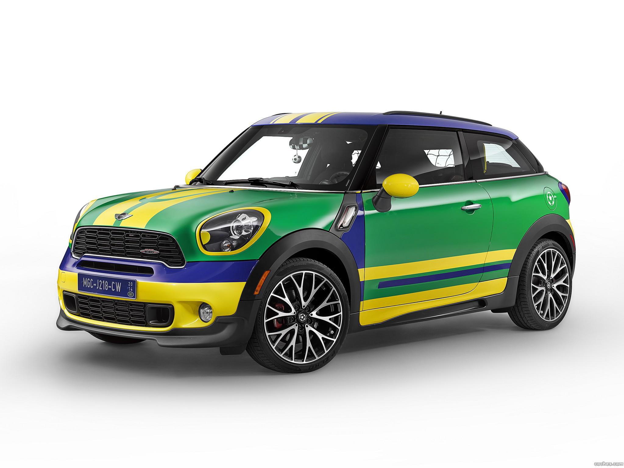Foto 0 de Mini Paceman Goalcooper R61 2014