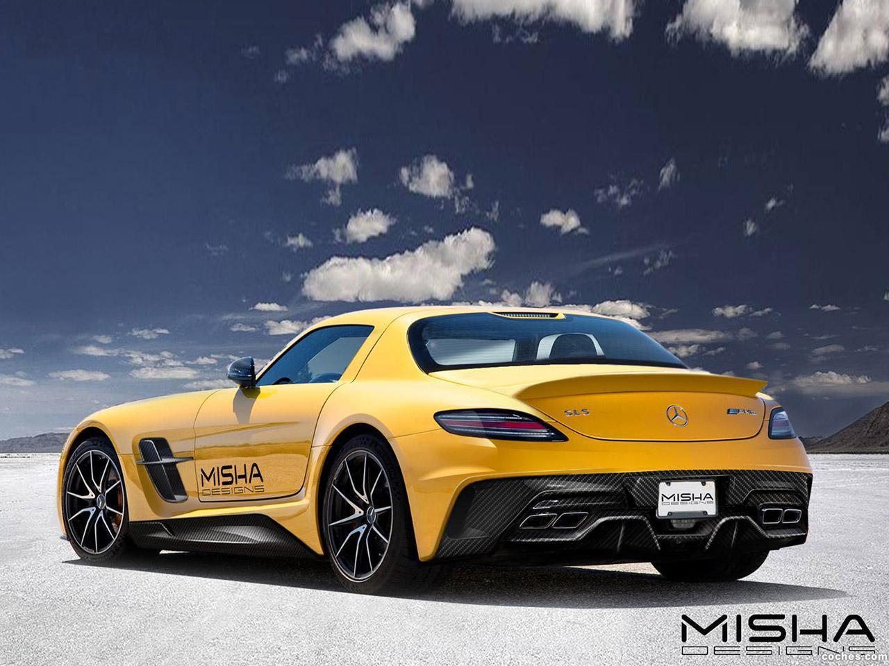 Foto 3 de Misha Mercedes SLS AMG 2014